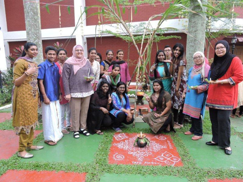 2018 Ponggal Celebration at Kolej Tafe Seremban