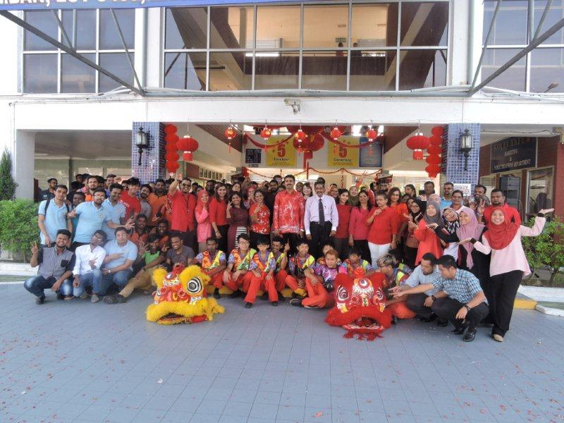 Chinese New Year Celebration at Tafe