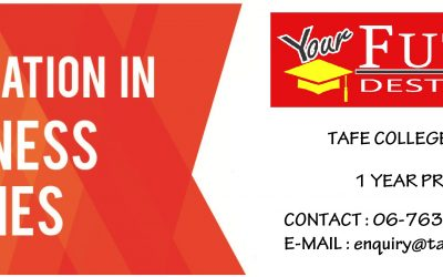 FOUNDATION IN BUSINESS 1 YEAR PROGRAM AT TAFE SEREMBAN