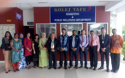 Initiating collaboration between Nilai University and Kolej TAFE Seremban